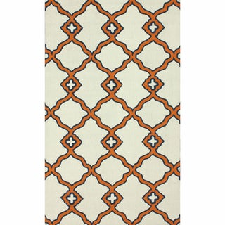 nuLOOM Handmade Moroccan Trellis Wool Area Rug (6' x 9')