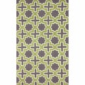 nuLOOM Handmade Indoor / Outdoor Marrakesh Trellis Green Rug (7'6 x 9'6)