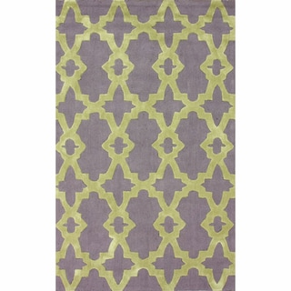nuLOOM Handmade Indoor / Outdoor Marrakesh Trellis Rug (7'6 x 9'6)