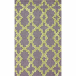 nuLOOM Handmade Indoor / Outdoor Marrakesh Trellis Rug (8'6 x 11'6)