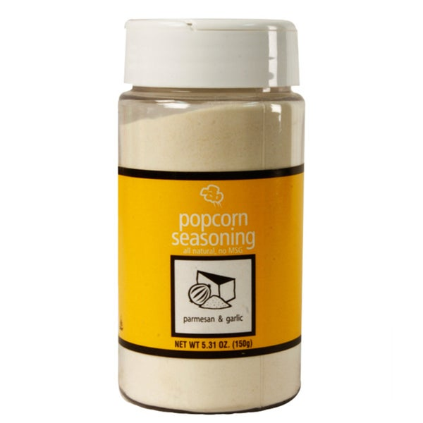Paragon Popcorn 5.31-ounce Parmesan and Garlic Shake-on Flavoring