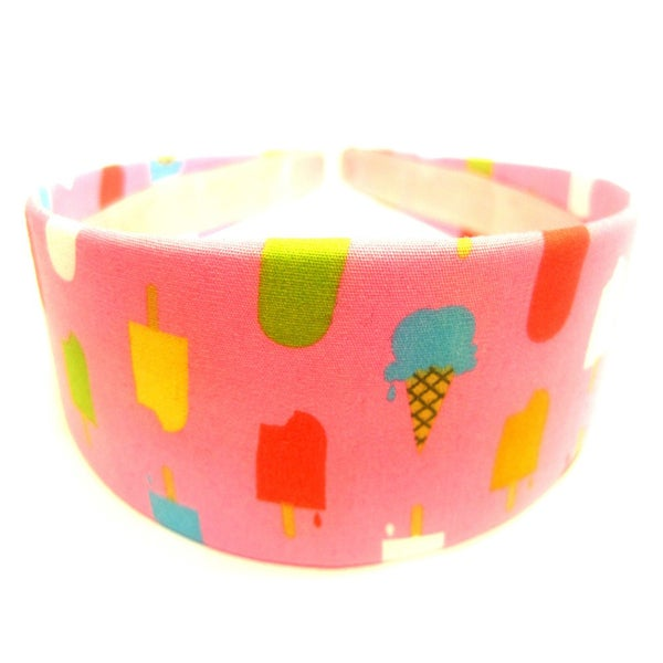Crawford Corner Shop Ice Creamcicle Pink Headband