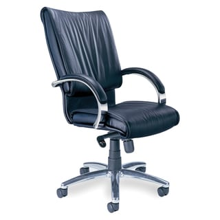 Mayline 'Mercado' Leather Series Executive President Chair