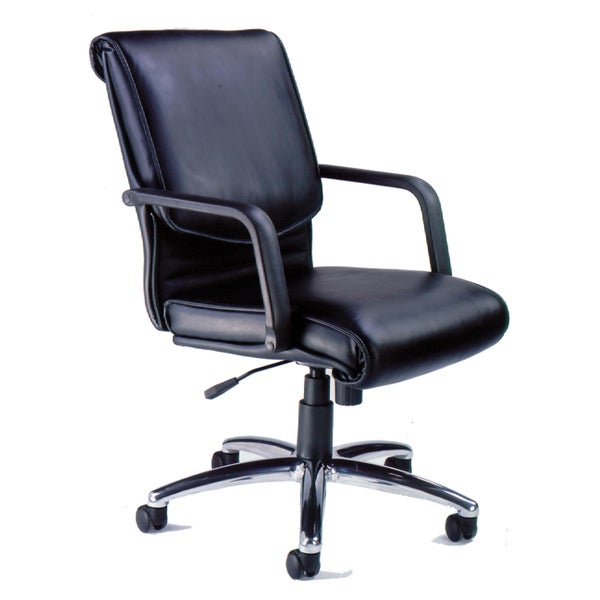Mayline 'Mercado' Leather Series Alliance Executive Chair