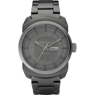 Diesel Men's Grey Stainless Steel Watch