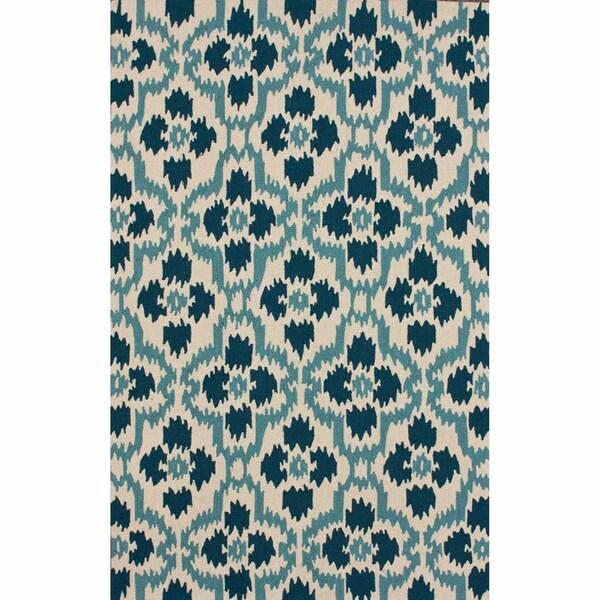 nuLOOM Handmade Trellis Ikat Rug (6' x 9')