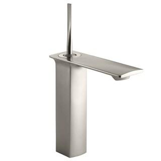 Kohler Stance Single-control Brushed Nickel Tall Lavatory Faucet