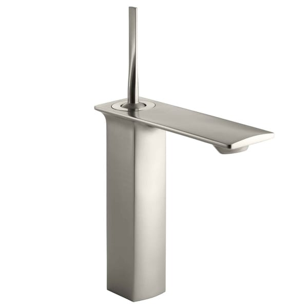 Kohler Stance Single-control Brushed Nickel Tall Lavatory Faucet 11108754