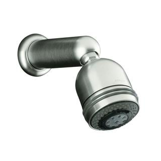Kohler MasterShower Brushed Chrome Relaxing Three-way Showerhead
