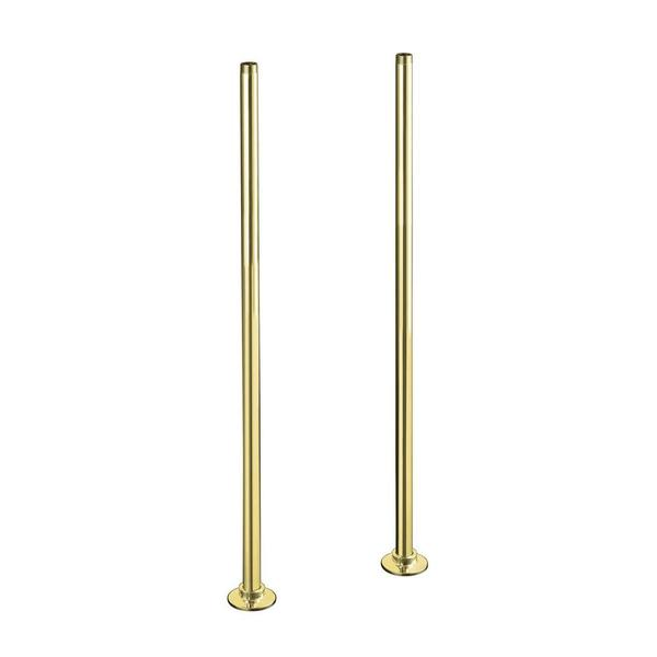 Kohler Antique Riser Long Polished Brass Tube