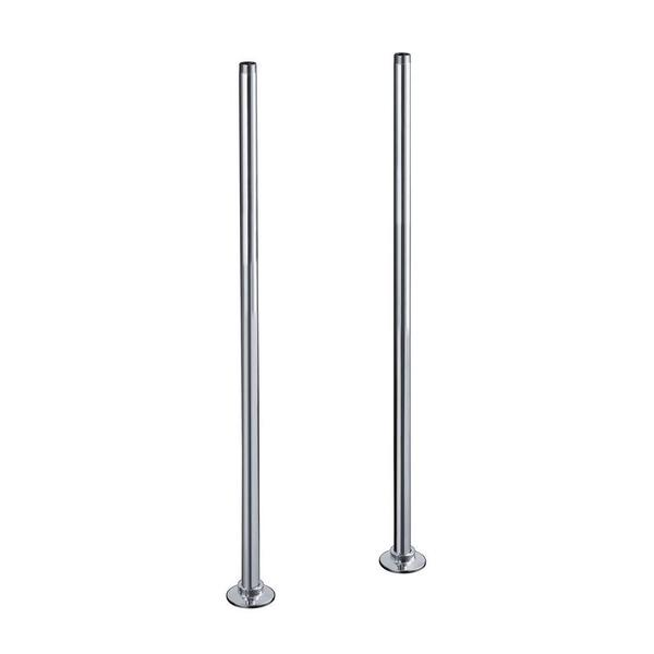 Kohler Antique Riser Long Polished Chrome Tube