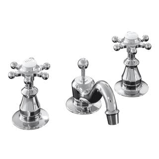 Kohler Antique Widespread Lavatory 6-prong Handle Faucet
