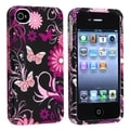 BasAcc Rubber Case/ Screen Protector for Apple iPhone 4/ 4S