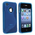 BasAcc Black TPU Case/ Screen Protector for Apple� iPhone 4/ 4S