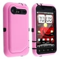 BasAcc Hybrid Case/ Car Charger for HTC EVO Droid Incredible 2