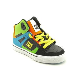DC Boy Children's 'Spartan Hi' Leather Athletic Shoe