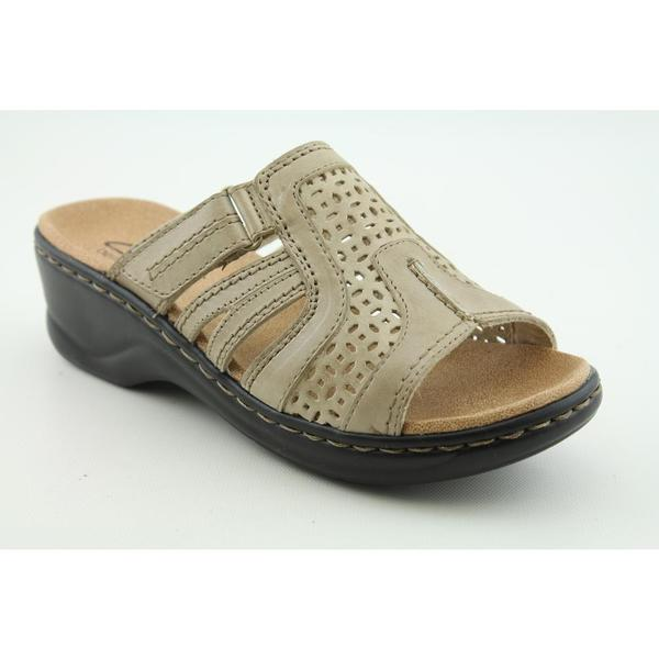Clarks Women's 'Lexi Bark' Leather Sandals