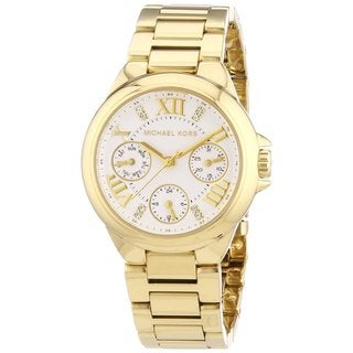 Michael Kors Women's MK5759 Camille Goldtone Watch