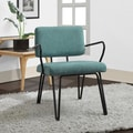 Palm Springs Aqua Upholstery Accent Chair