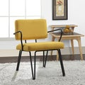 Palm Springs Yellow Upholstery Accent Chair