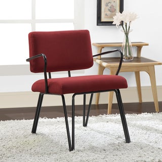 Palm Springs Red Upholstery Accent Chair