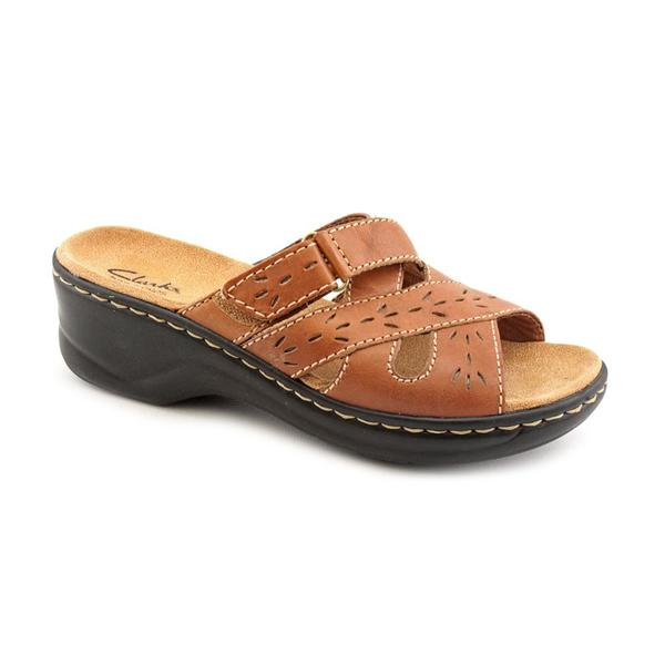 Clarks Women's 'Lexi Ash' Leather Sandals