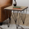 Square Top Folding Spider Web Accent Table (India)