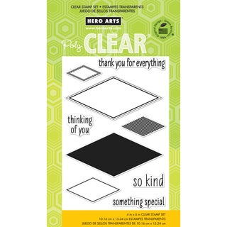 """Hero Arts Clear Stamps 4""""x6"""" Sheet-So Kind"""