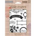 Basic Grey Knee Highs & Bow Ties Clear Stamps By Hero Arts-Knee Highs Once Upon A Time 9 Images