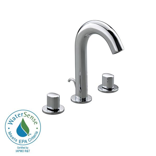 Kohler Oblo Chrome Double-handled Lavatory Faucet
