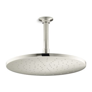 Kohler Contemporary Polished Nickel 12-inch Round Rain Head