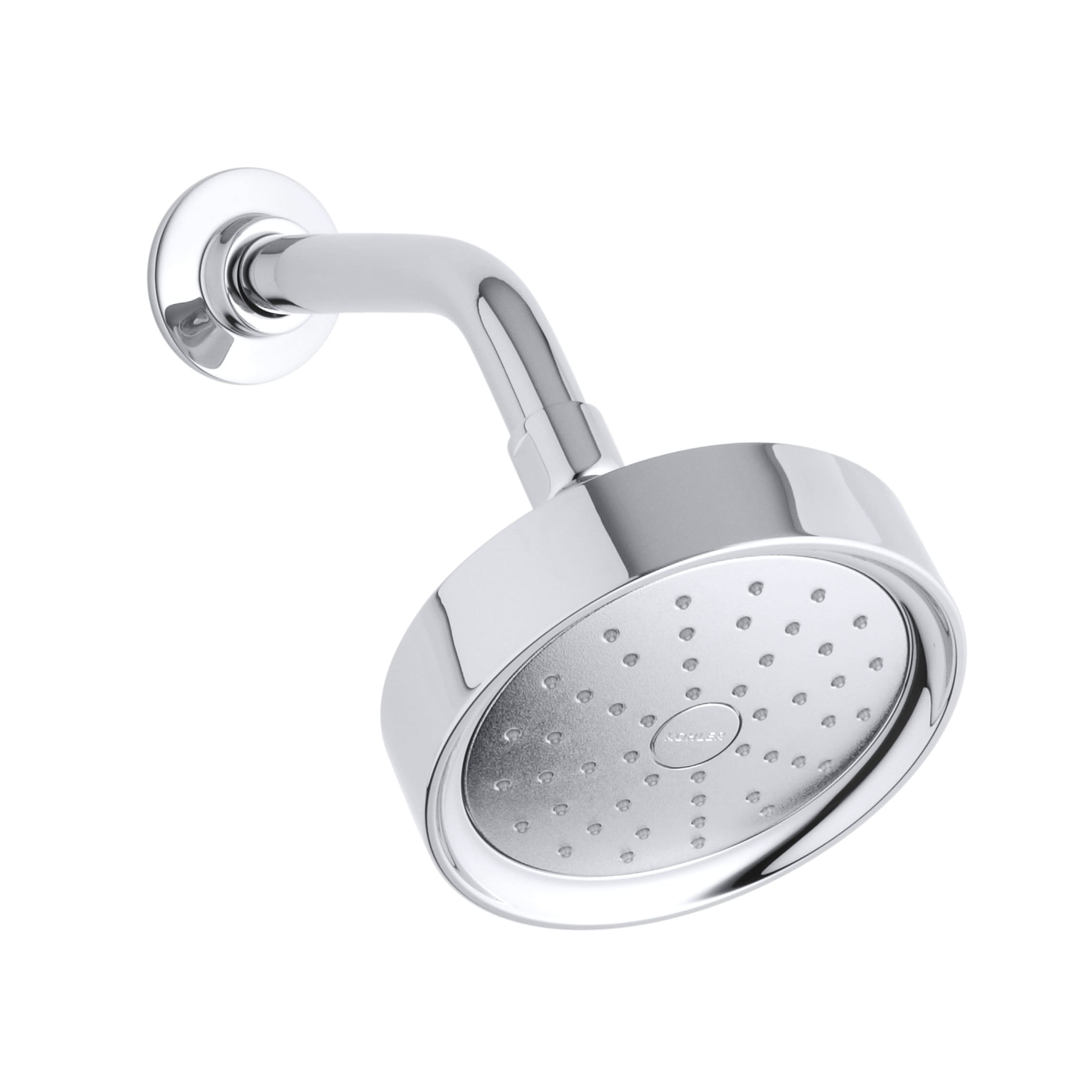 Kohler Purist Polished Chrome Single Function Shower Head With Katalyst Spray