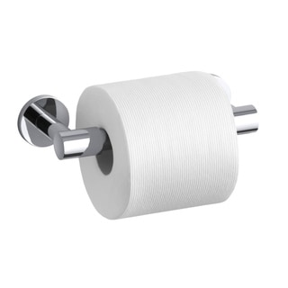 Kohler Stillness Polished Chrome Pivoting Toilet Tissue Holder