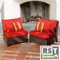 RST Cantina Armless Chairs 2-pack Patio Furniture