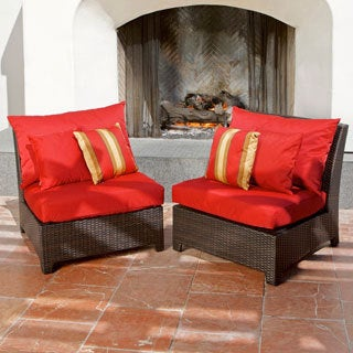 Cantina Armless Chairs 2-pack Patio Furniture