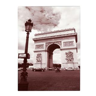 Kathy Yates 'Arc de Triomphe' Canvas Art