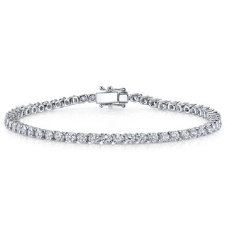 18k White Gold 2ct TDW Diamond Tennis Bracelet (H-I, SI1-SI2)
