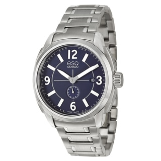 ESQ by Movado Men's 'Excel' Stainless Steel Swiss Quartz Watch