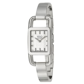 ESQ by Movado Women&#39;s &#39;Angle&#39; Stainless Steel Swiss Quartz Watch