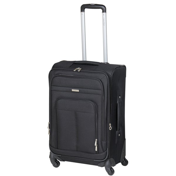 Calvin Klein Rivington Collection 24-inch Expandable Spinner Upright Suitcase