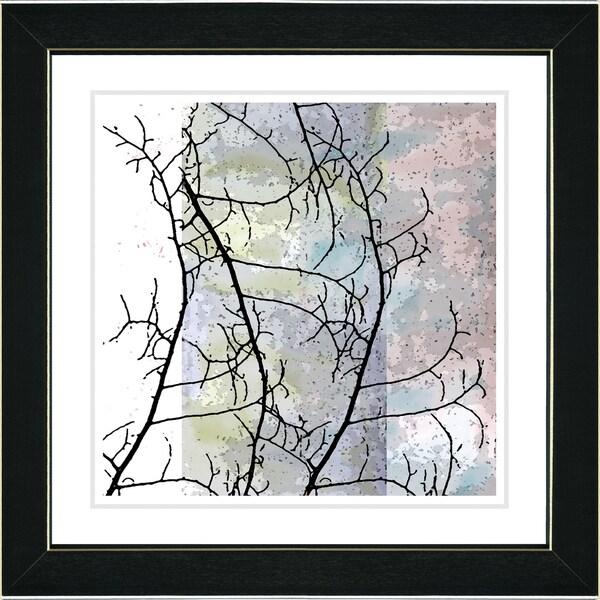 Studio Works Modern 'Spring Silhouette - I' Framed Print