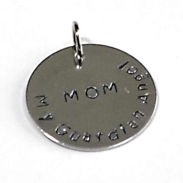 Handmade and Hand Stamped Pendant for Mothers
