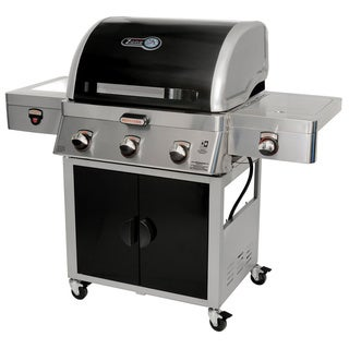 Brinkmann Zone 5-in-1 Cooking System Dual Fuel 3-burner Gas Grill