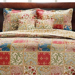 Kismet 100-percent Cotton 3-piece Quilt Set