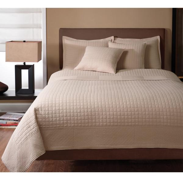 Essex 100 Percent Cotton Quilted Square 3 Piece Design