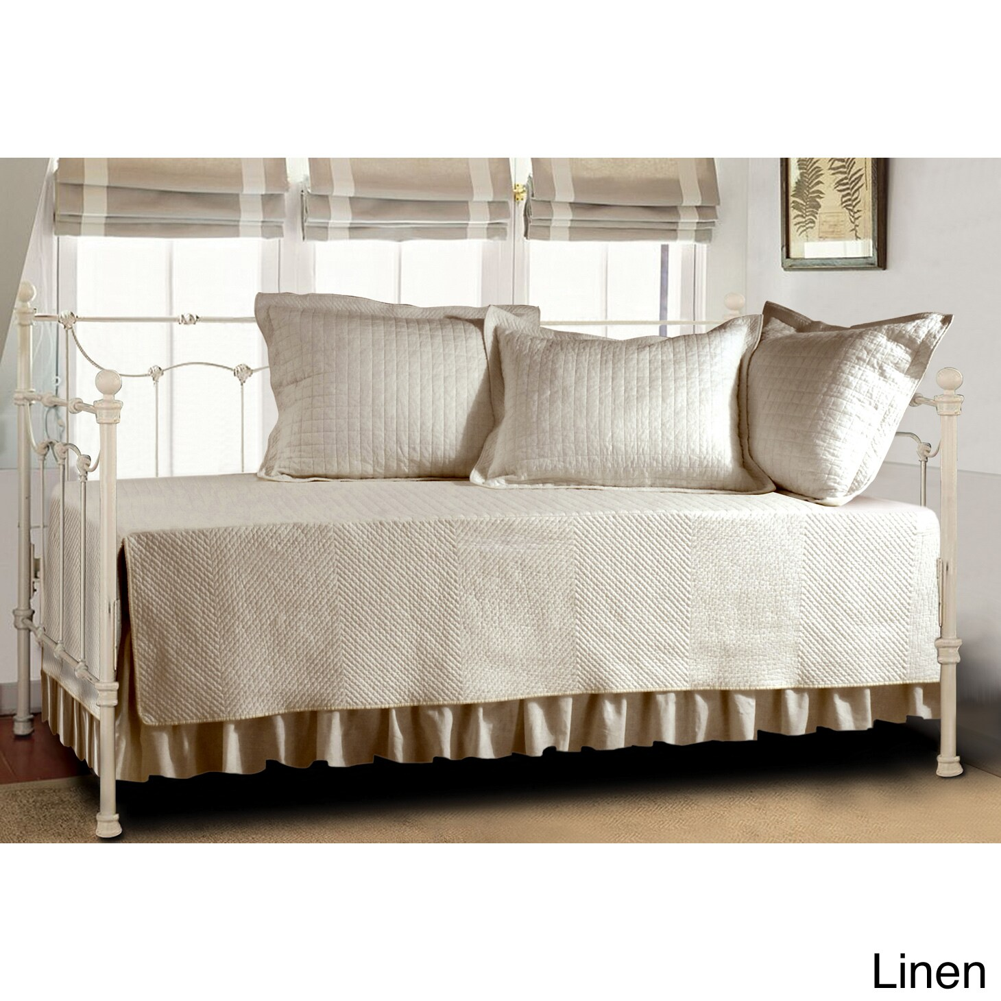 White daybed with trundle bed - Piece Daybed Cover Set Covers Day Bed New Pillow Comforter Bedding