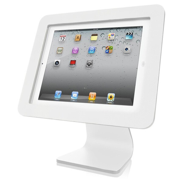 All in One- iPad Rotating and Swiveling Stand White 11112326