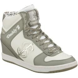 Women's Daddy's Money Moolah Gray/White