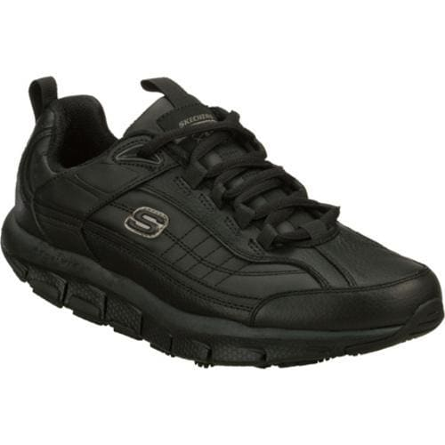 Men's Skechers Shape-ups Liv SR Brawny Black
