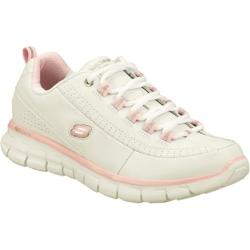 Women's Skechers Synergy Elite Status White/Pink